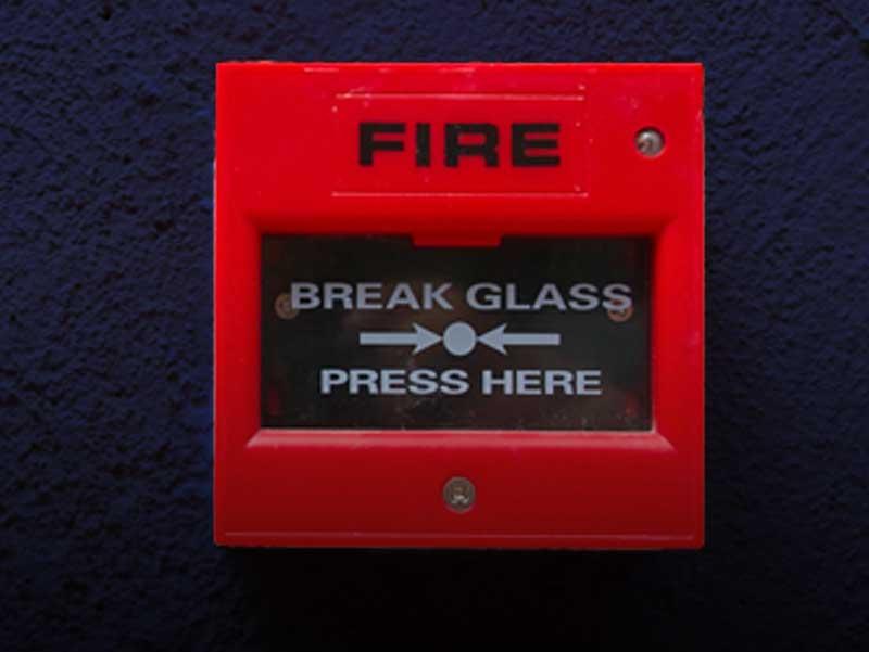 construction sites fire alarm